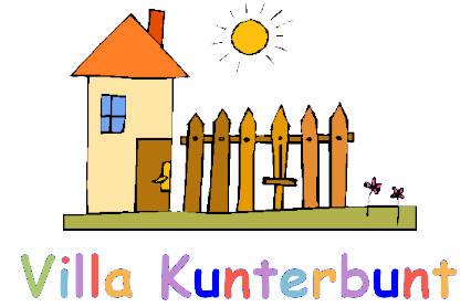 Villa Kunterbunt Burgsalach - Logo